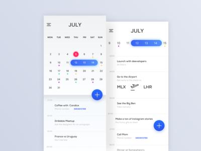 Calendar Minimal