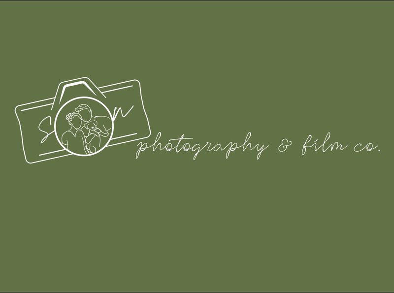 Son Photography & Film Co. business cards design logo branding