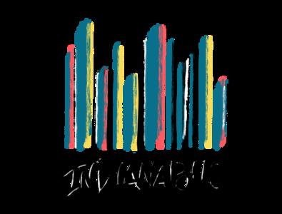 Indy Drip clothing tshirt illustration typography design