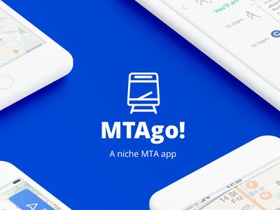 MTAgo! A niche MTA App trying designer graphic transit app ux ui
