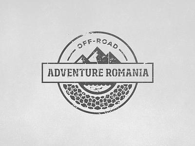 Adventure Romania logo adventure off-road grunge 4x4 romania