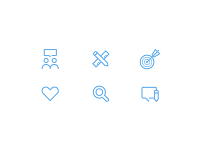 Icons icons stroke productivity design collaboration like search message