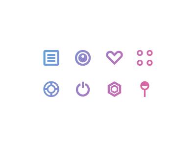 Icons app menu icons