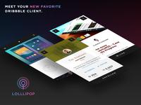 Lolllipop - Your New Favorite Dribbble Client