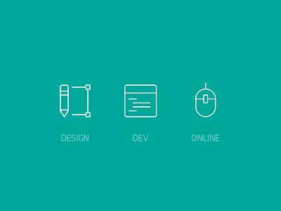 Ctrl-D Icons icon ctrl-d online dev design