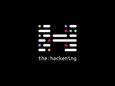The Hackening hackathon logo