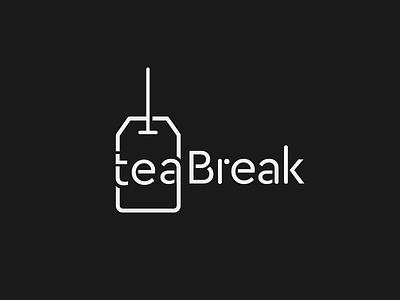 TeaBreak Logo logo tea