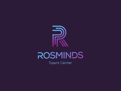 Rosminds gradient logo