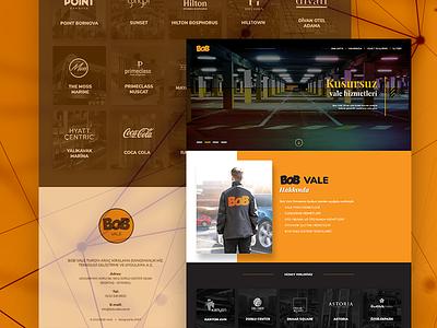 BoB Vale design fullwidth webdesign web white clean responsive