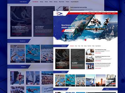 ASSK water sports assk ui fullwidth webdesign web white clean responsive