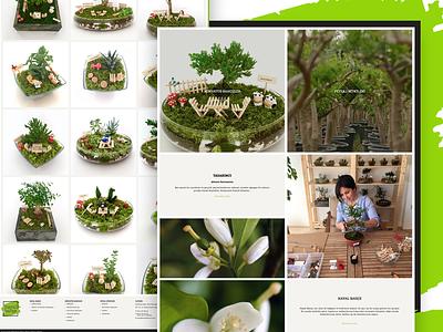 HAYAL BAHCE ecommerce flower tree responsive eticaret clean mini garden green garden bahçe peyzaj