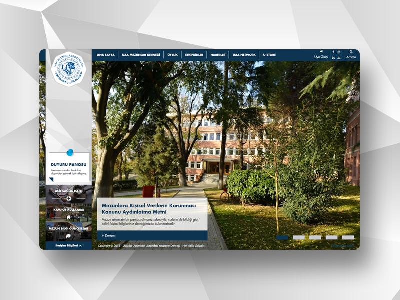 UALYETDER fullwidth association acaddemy alumni responsive web ualyetder