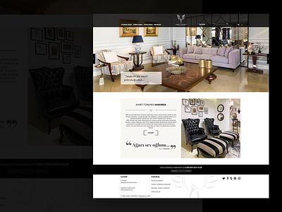 Ahmet Turkmen fullwidth webdesign web white clean responsive