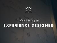 Ahalogy | We're hiring an Experience Designer