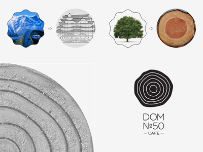 Making of DOM №50 abt cafe circles dom50 nature wood