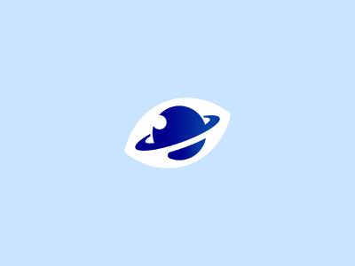 EyePlanet clean kapor brand design hunapstudio hunap uidesign graphic logo eyes universe pluto eye planet