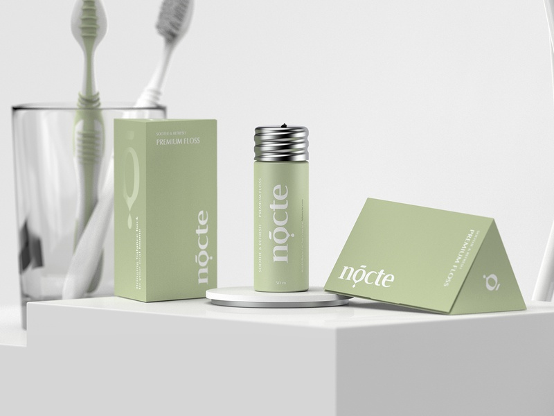 Nocte kapor brand design logo packaging dental clinic dental care dental logo dental cosmetic logo cosmetic packaging cosmetics hunapstudio hunap