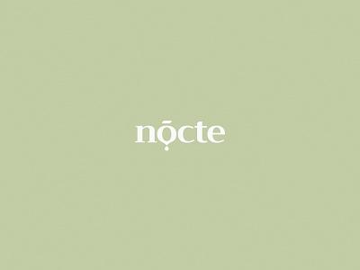 Nocte logo cosmetics logo dental cosmetic cosmetics identity minimal clean kapor brand design logo hunapstudio hunap