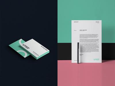 Udvartér teátrum - Theater visual identity - Trasylvania branding professional minimal letterhead paper businesscard stationery theater brand design hunapstudio hunap