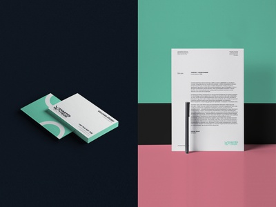 Udvartér teátrum - Theater visual identity - Trasylvania branding professional minimal letterhead paper businesscard stationery theater brand design hunapstudio hunap