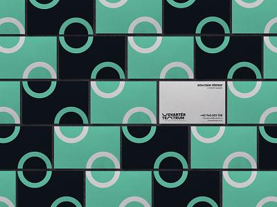 Udvartér teátrum - Theater visual identity - Trasylvania theater businesscards business cards idcard business card design businesscard business card professional minimal brand design logo hunapstudio hunap