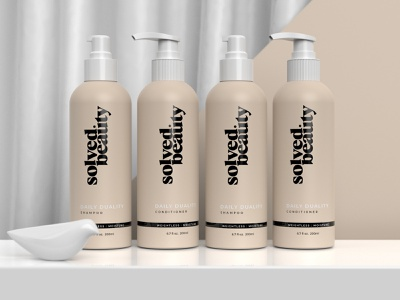 Solved Beauty package design kovacsapor kapor pastel colors pastel branding packaging packagedesign clean package shampoo conditioner soap brand design logo hunapstudio hunap