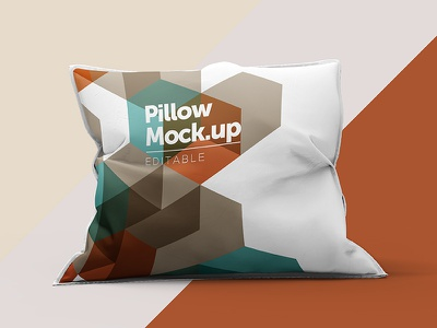 Pillow Mock Up k.apor kapor clean deodorant deo mock-up up mock mockup