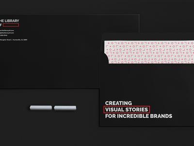 The Library Of studio black emblem professional identity minimal clean illustration kapor brand design logo hunapstudio hunap