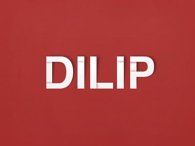 Artist Dilip Logo