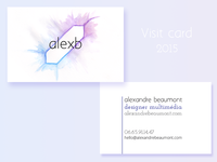 Visit Card for 2015