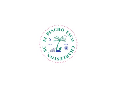 Pincho Taco food and bev identity restaurants branding logo