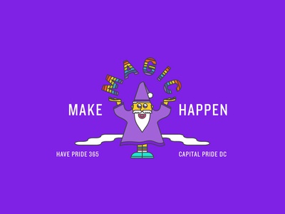 Make Magic Happen snapchat pride parade washington dc dc capital pride dc pride wizard