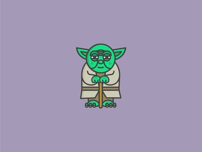 Yoda yoda star wars illustration