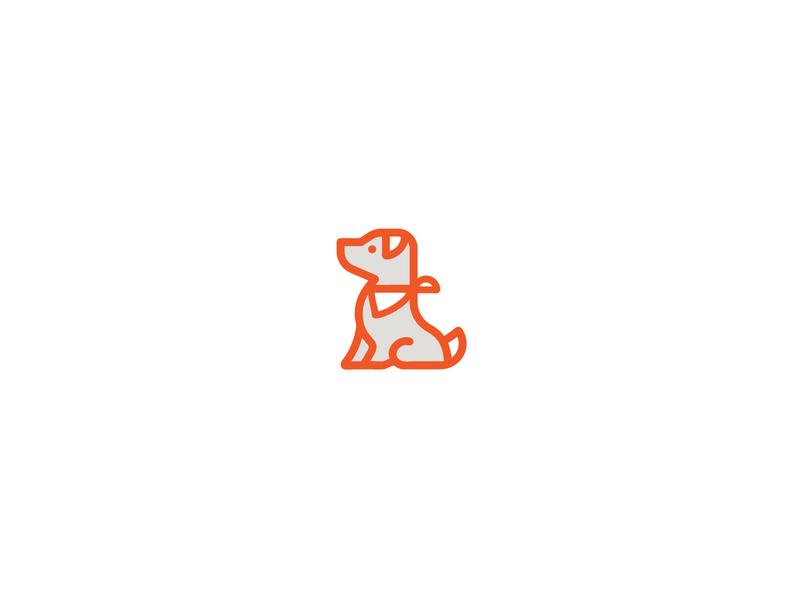 Pointer logo brand pointer dog