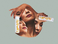 Skincare Collage social collageart collages
