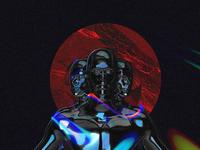 Clones 3d art dimension collage