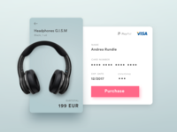 DailyUI #002 Credit Card Checkout