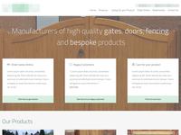 Website Homepage - WIP