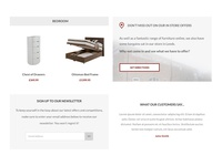 Content blocks for eCommerce homepage