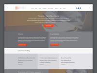 Recruitment Website Homepage