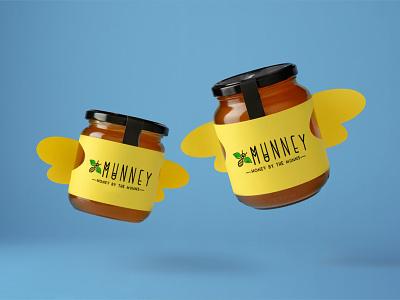 Munney vector logo illustration typography graphic design design branding