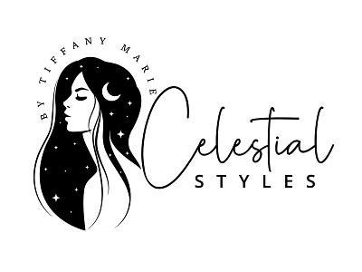 Celestial styles logo design vector logo illustration typography graphic design design branding