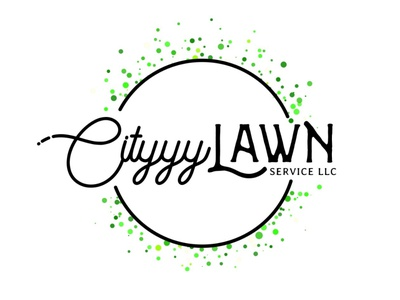 Cityyy lawn service logo design vector logo illustration typography graphic design design branding