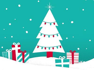 VML Foundation Holiday Family Gifts Program vml holiday christmas gifts vector illustration tree kansas city