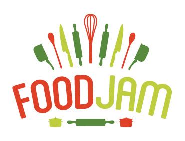 Foodjam Identity Design brand identity food branding food logo design logo design