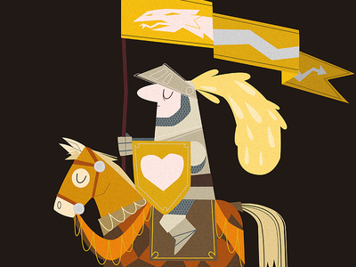 Knight of colors justas medieval tournament horse knight