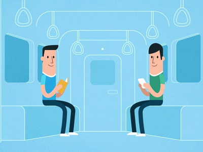 Literature App video infography infography minimal vector tube subway
