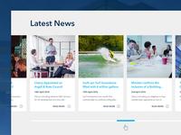 News Section UI
