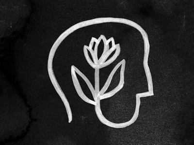 Creativity head brain plant flower grow idea creativity
