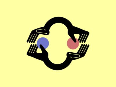 Transactionalism conceptual illustration vector illustration coins hands transactual transaction conceptual